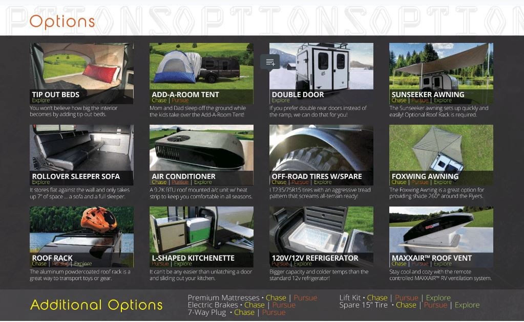 inTech RV options